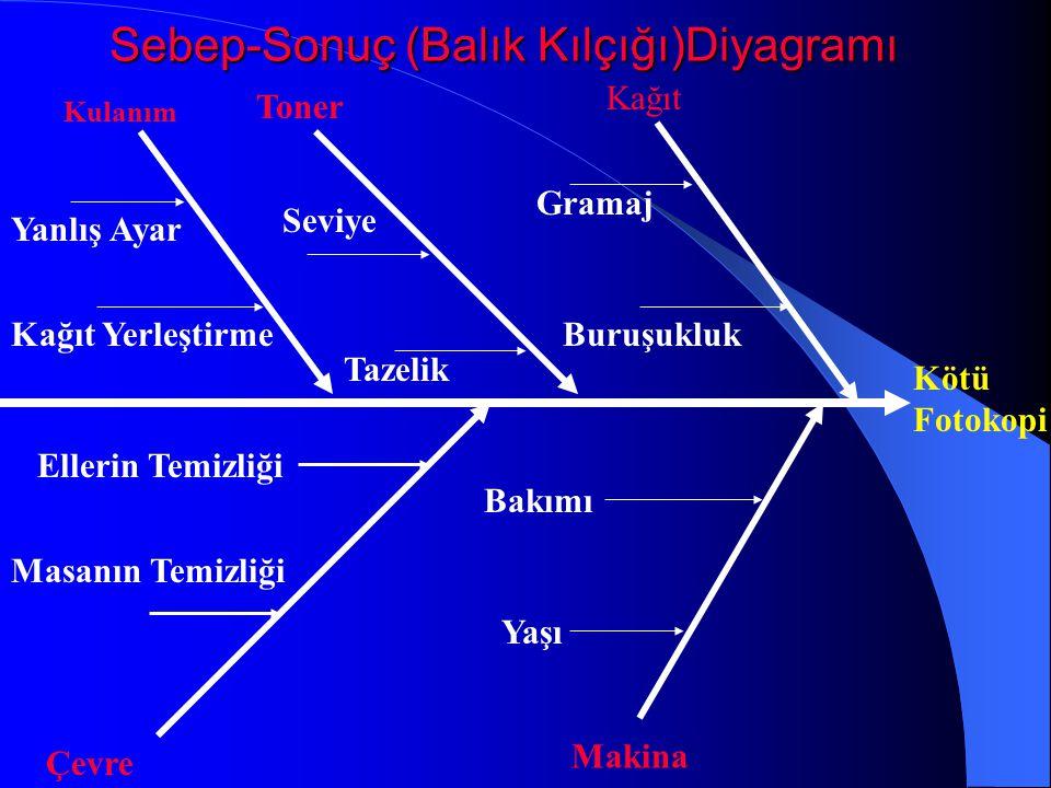 Sebep-Sonuç (Balık Kılçığı)Diyagramı
