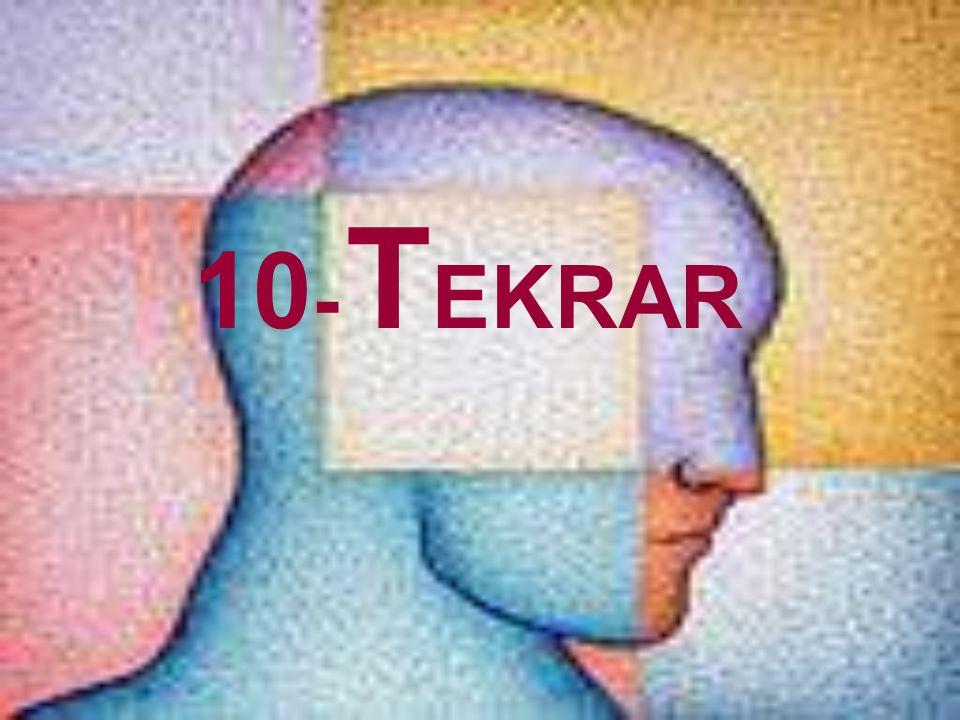10- TEKRAR