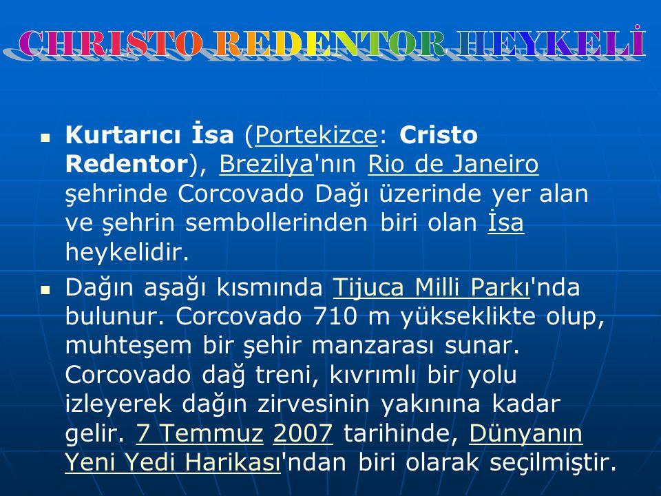 CHRISTO REDENTOR HEYKELİ