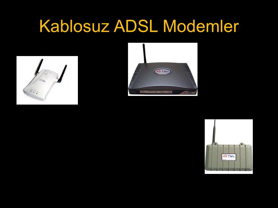 Kablosuz ADSL Modemler