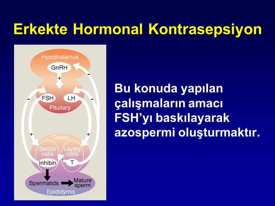 Erkekte Hormonal Kontrasepsiyon