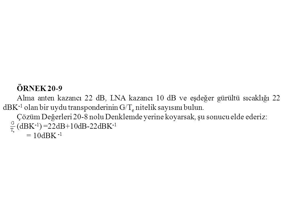 ÖRNEK 20-9