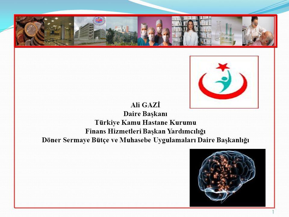 Türkiye Kamu Hastane Kurumu Finans Hizmetleri Başkan Yardımcılığı