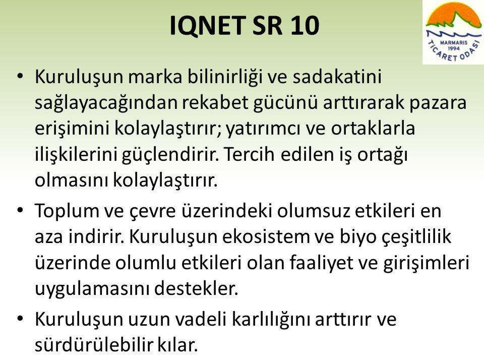 IQNET SR 10