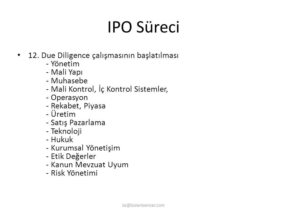IPO Süreci