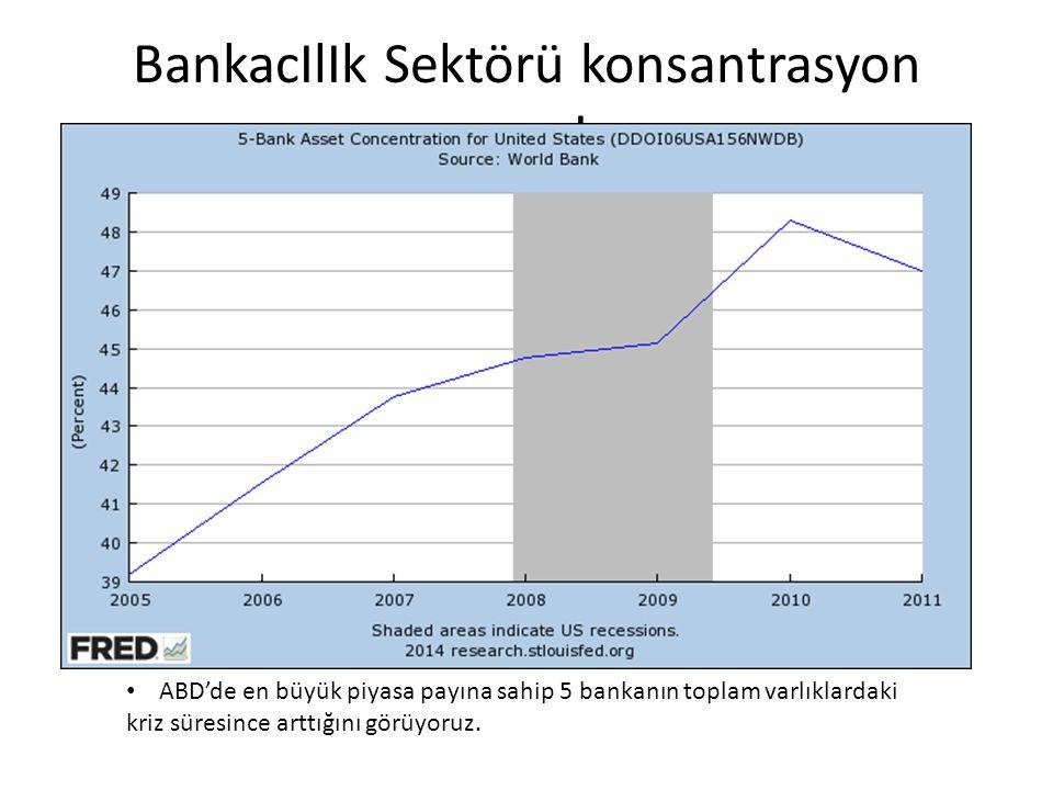 BankacIlIk Sektörü konsantrasyon oranI