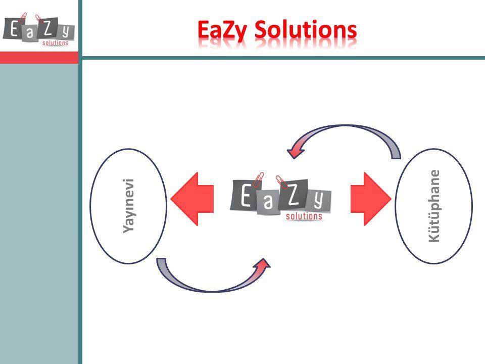 EaZy Solutions Yayınevi Kütüphane