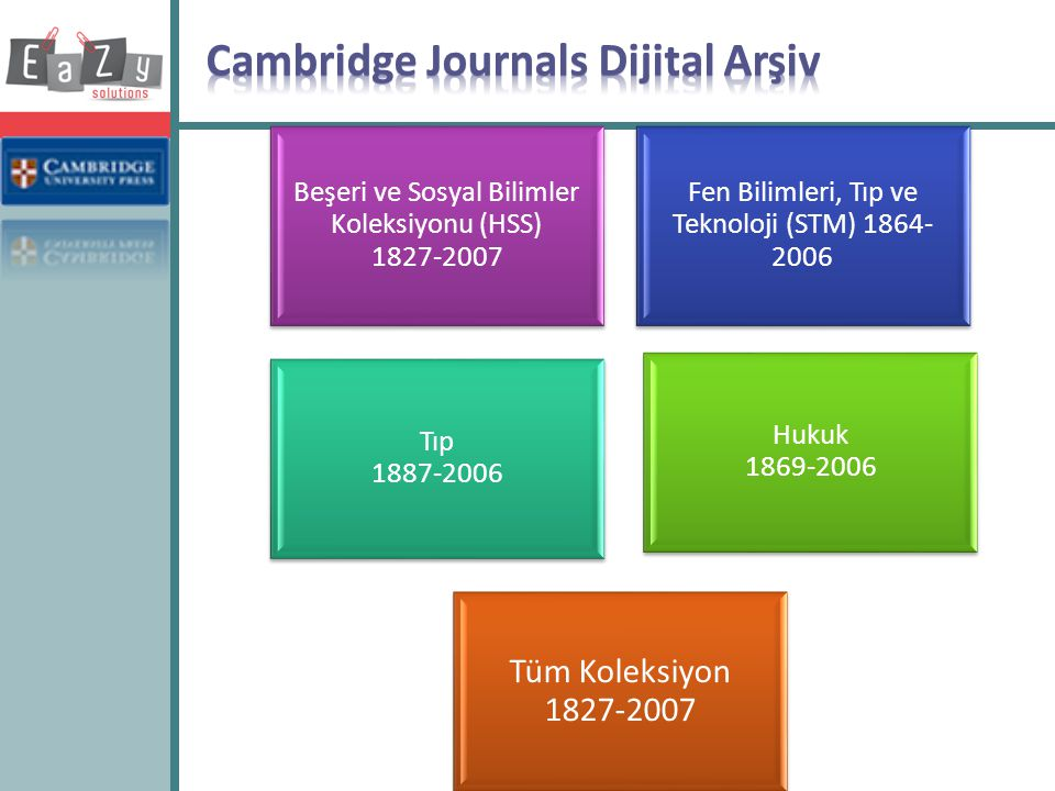 Cambridge Journals Dijital Arşiv