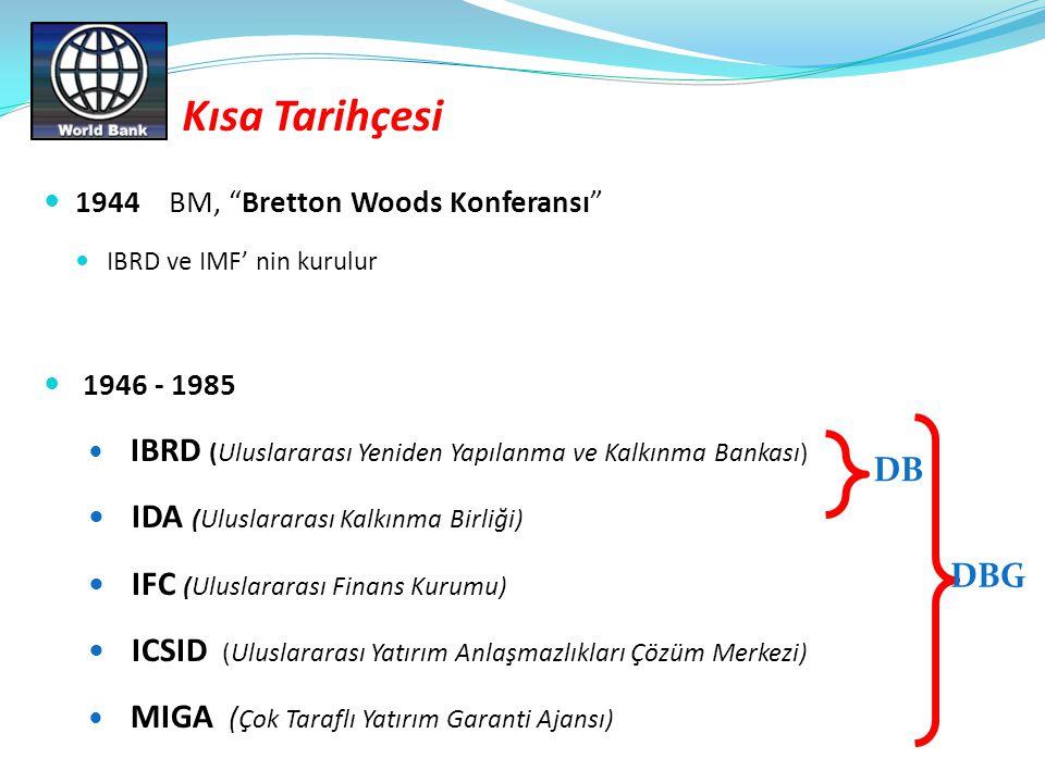 Kısa Tarihçesi IDA (Uluslararası Kalkınma Birliği)