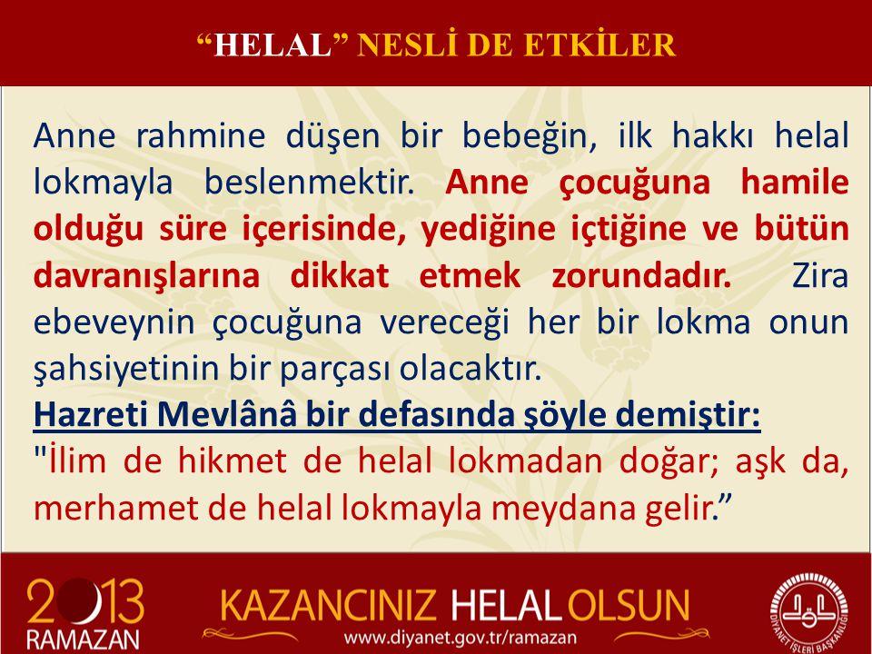 HELAL NESLİ DE ETKİLER