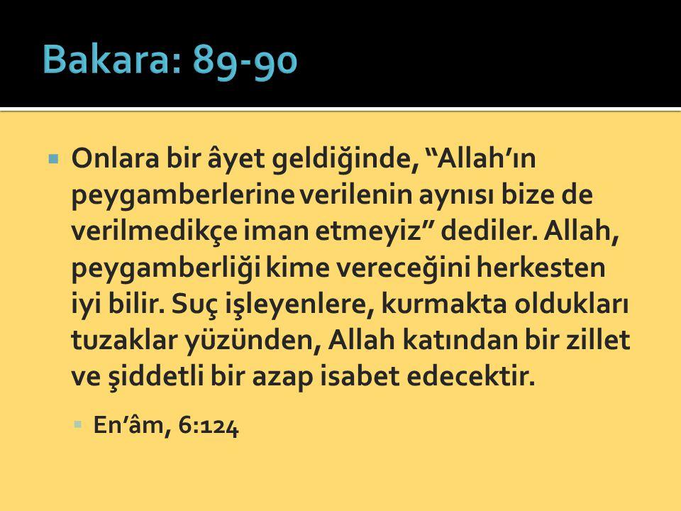 Bakara: 89-90