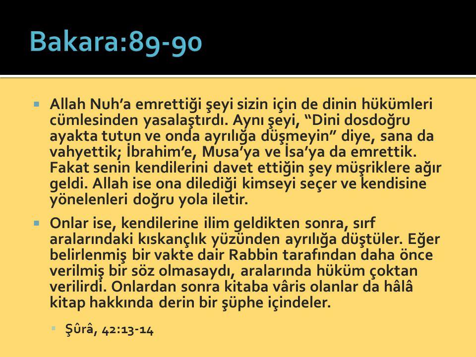 Bakara:89-90