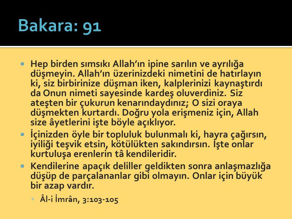 Bakara: 91