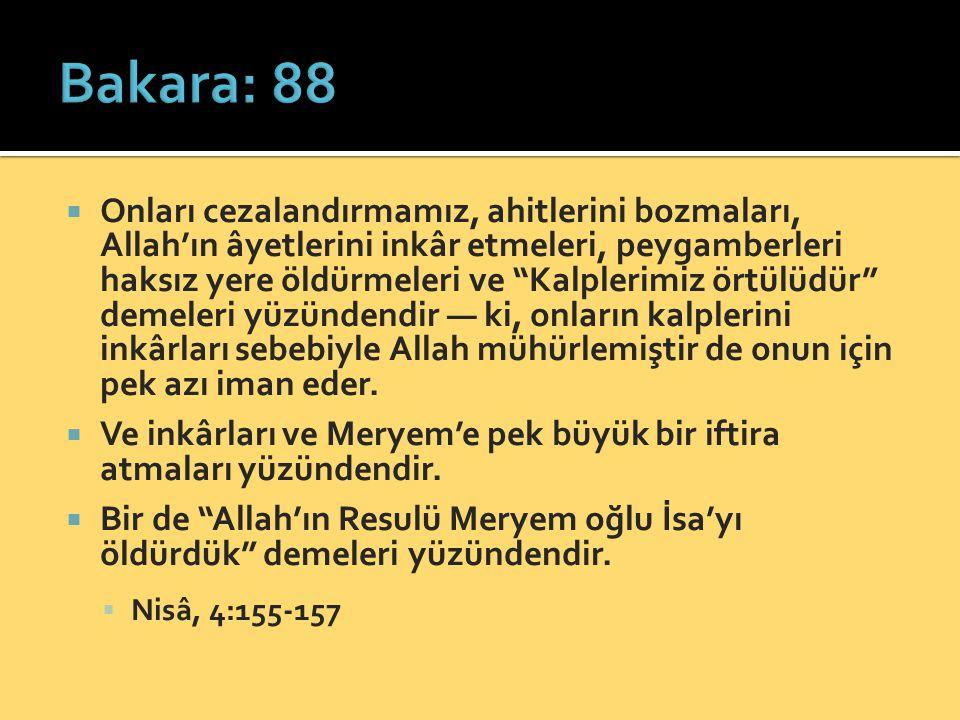 Bakara: 88