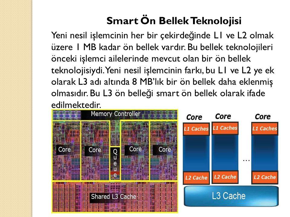 Smart Ön Bellek Teknolojisi