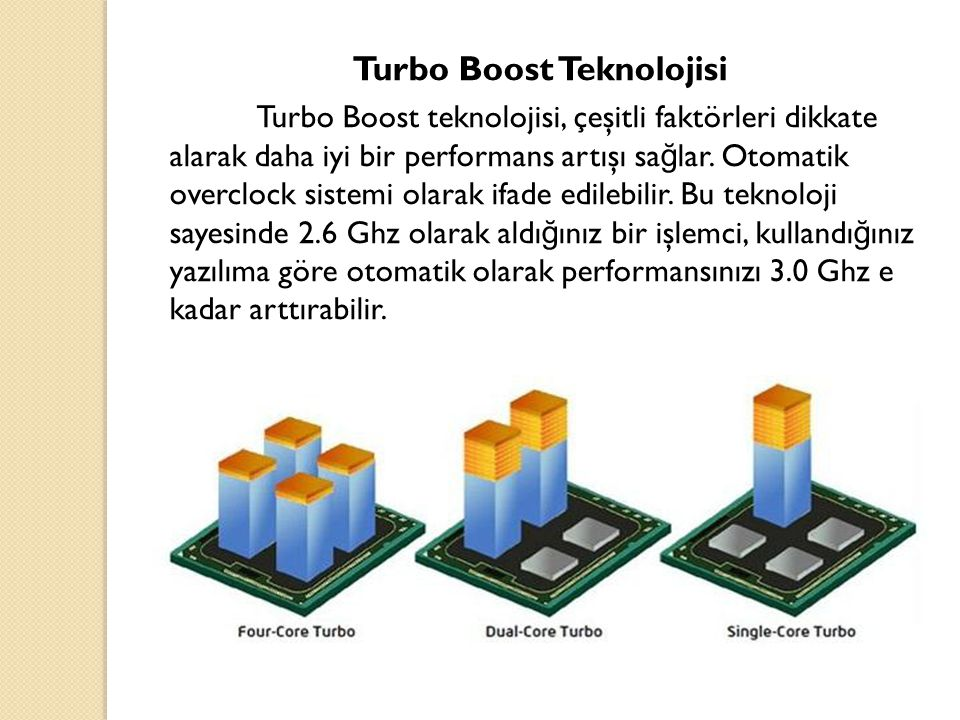 Turbo Boost Teknolojisi