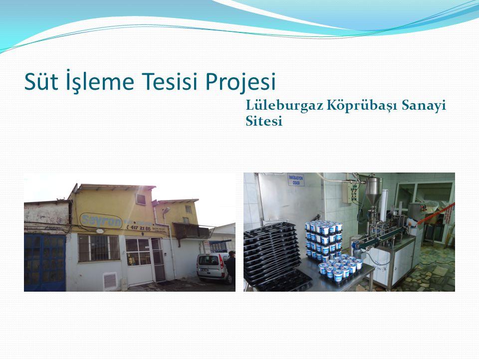 Süt İşleme Tesisi Projesi