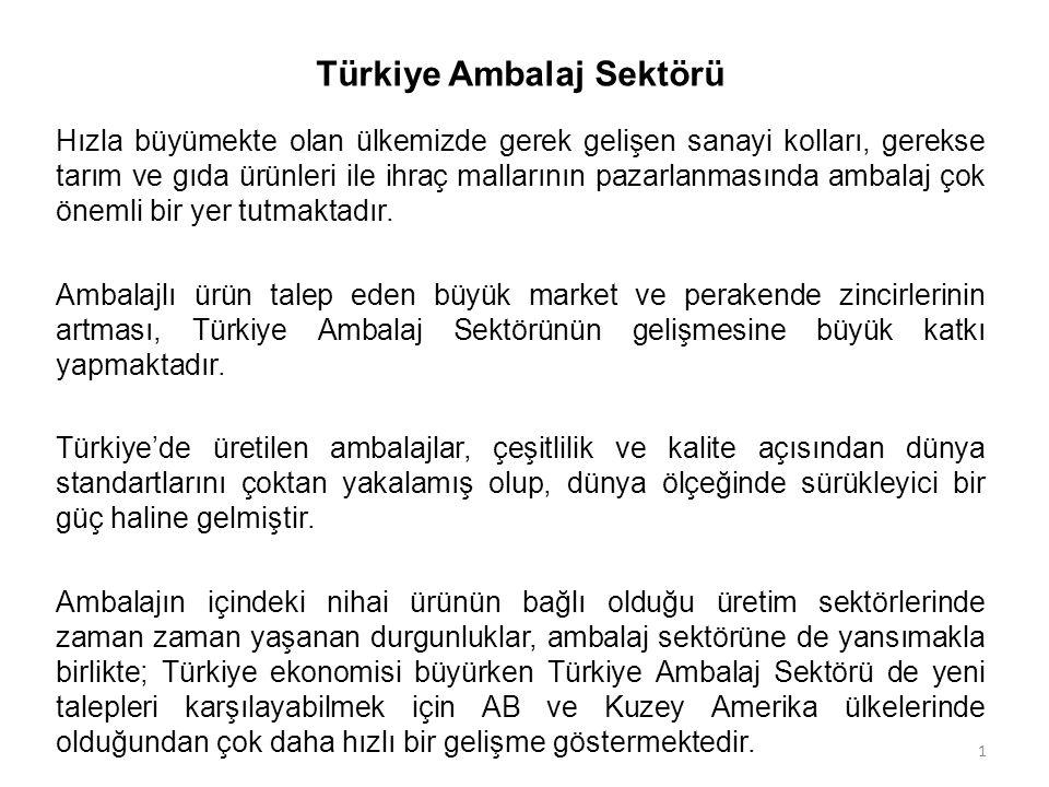 Türkiye Ambalaj Sektörü