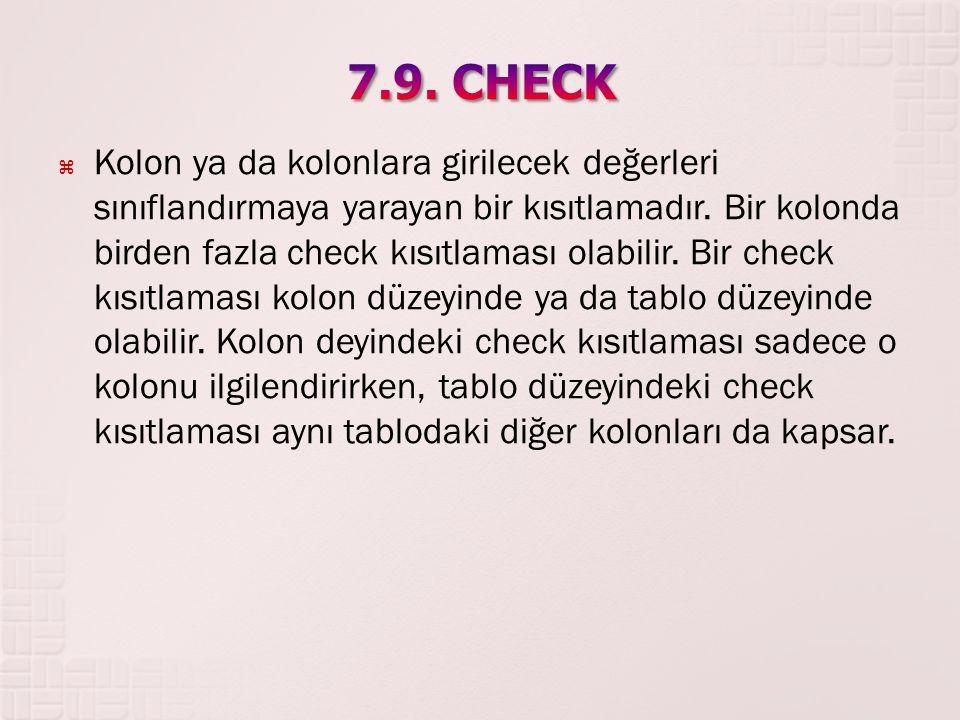 7.9. CHECK