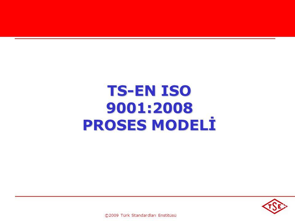 TS-EN ISO 9001:2008 PROSES MODELİ