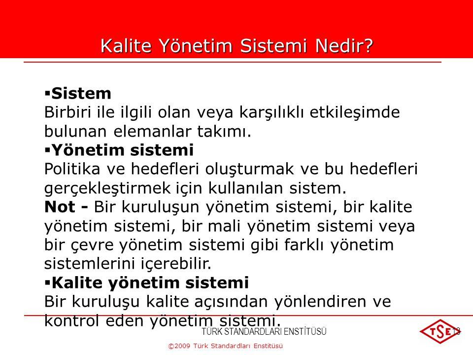 Kalite Yönetim Sistemi Nedir