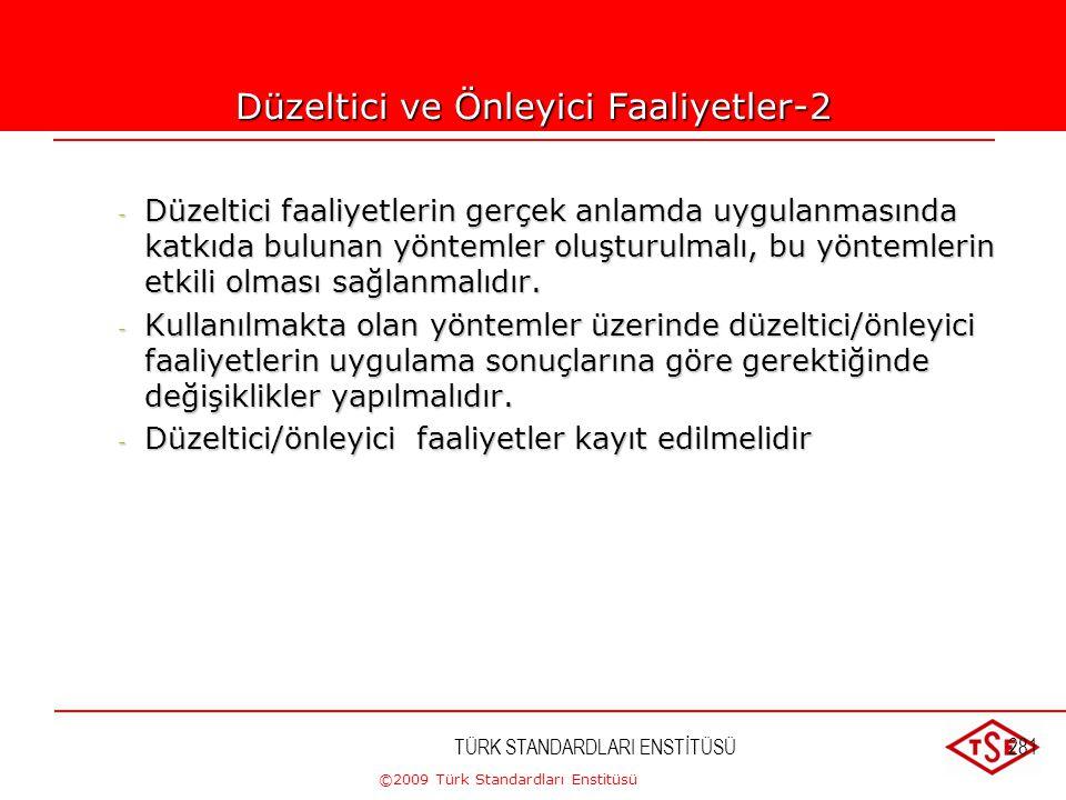 Düzeltici ve Önleyici Faaliyetler-2