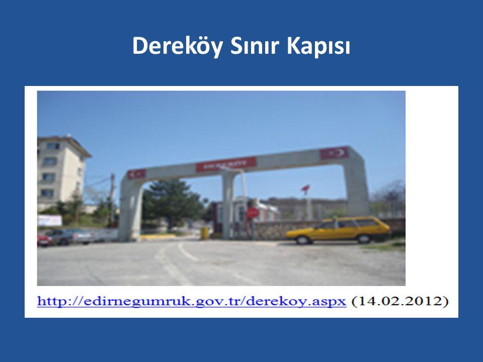 Dereköy Sınır Kapısı