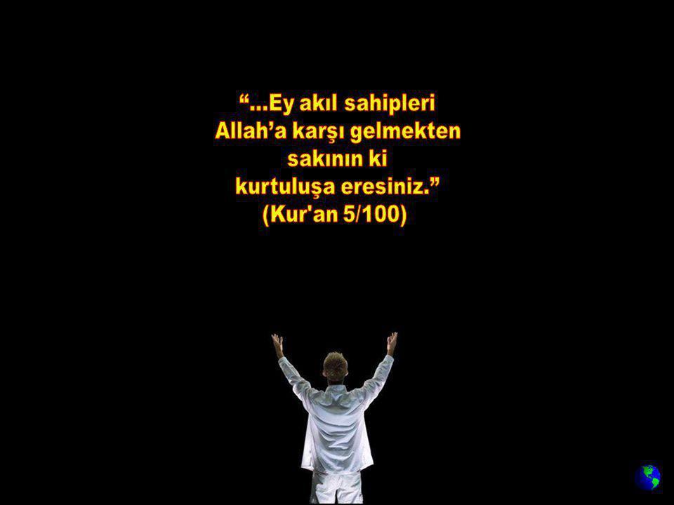 Allah'a karşı gelmekten