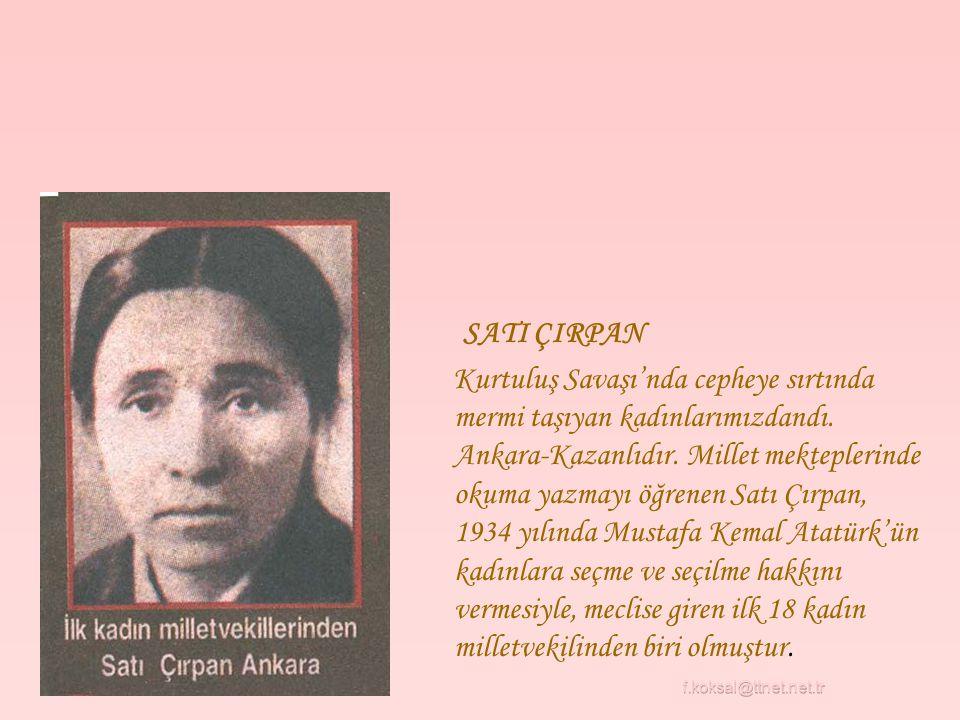 SATI ÇIRPAN