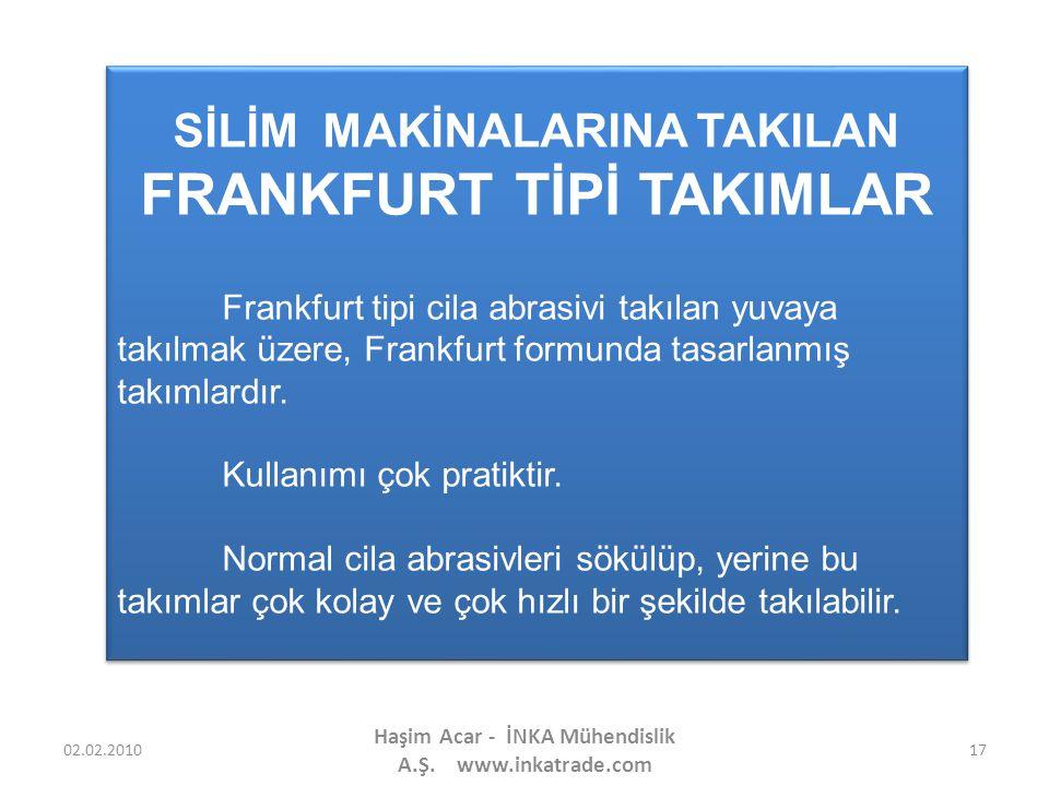 FRANKFURT TİPİ TAKIMLAR
