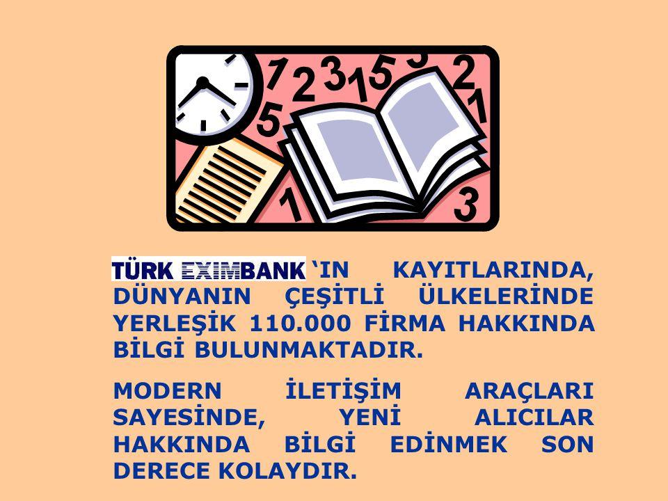 'IN KAYITLARINDA, DÜNYANIN ÇEŞİTLİ ÜLKELERİNDE YERLEŞİK 110
