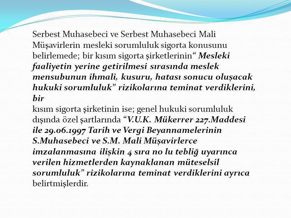 Serbest Muhasebeci ve Serbest Muhasebeci Mali