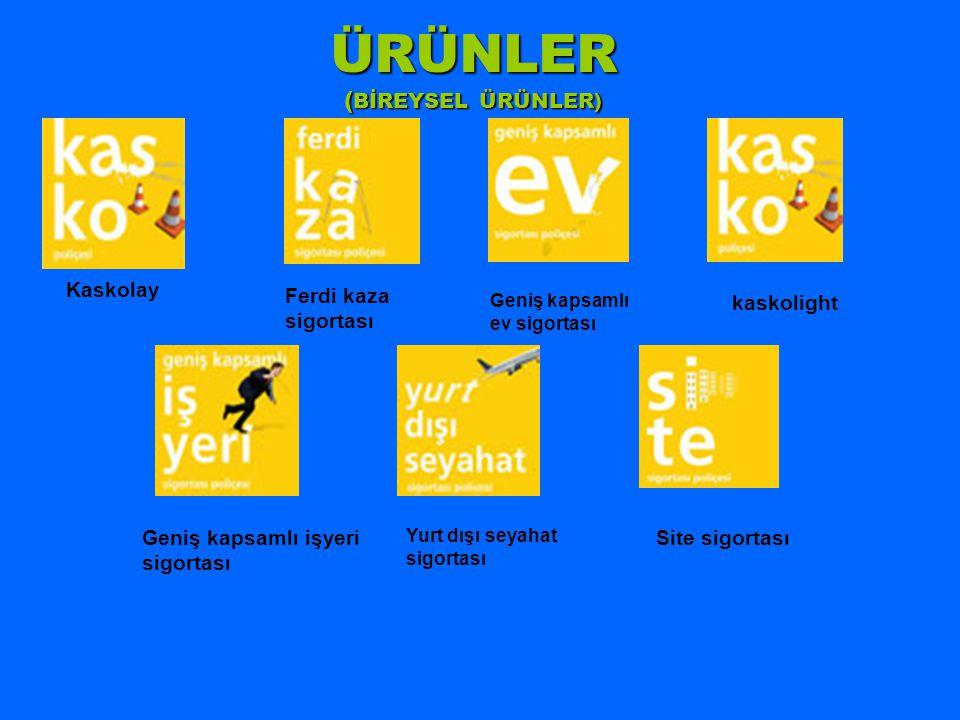 ÜRÜNLER (BİREYSEL ÜRÜNLER)