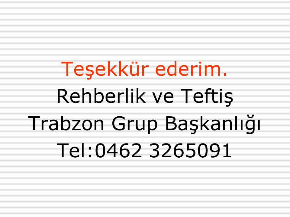 Trabzon Grup Başkanlığı