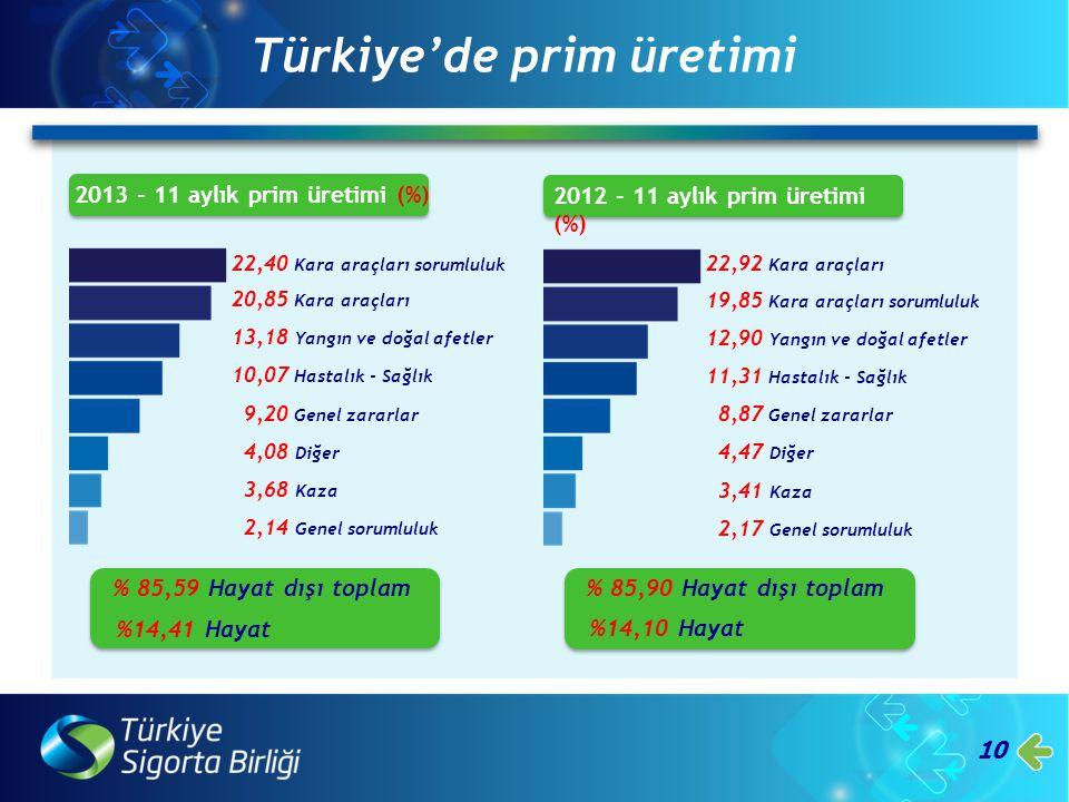 Türkiye'de prim üretimi