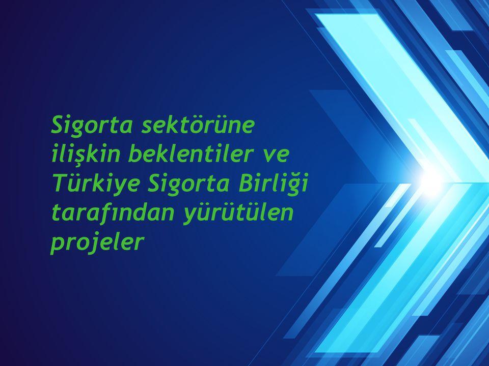 Sigorta sektörüne ilişkin beklentiler ve Türkiye Sigorta Birliği tarafından yürütülen projeler