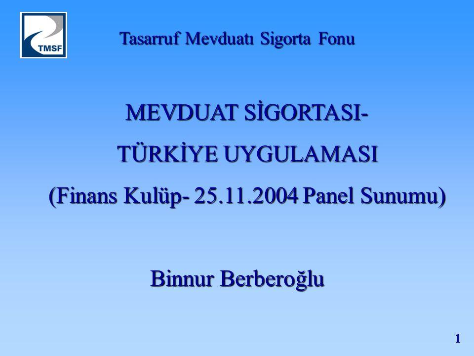 (Finans Kulüp- 25.11.2004 Panel Sunumu)