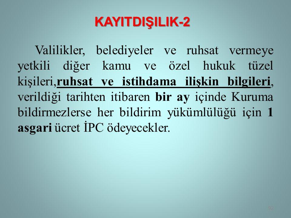KAYITDIŞILIK-2