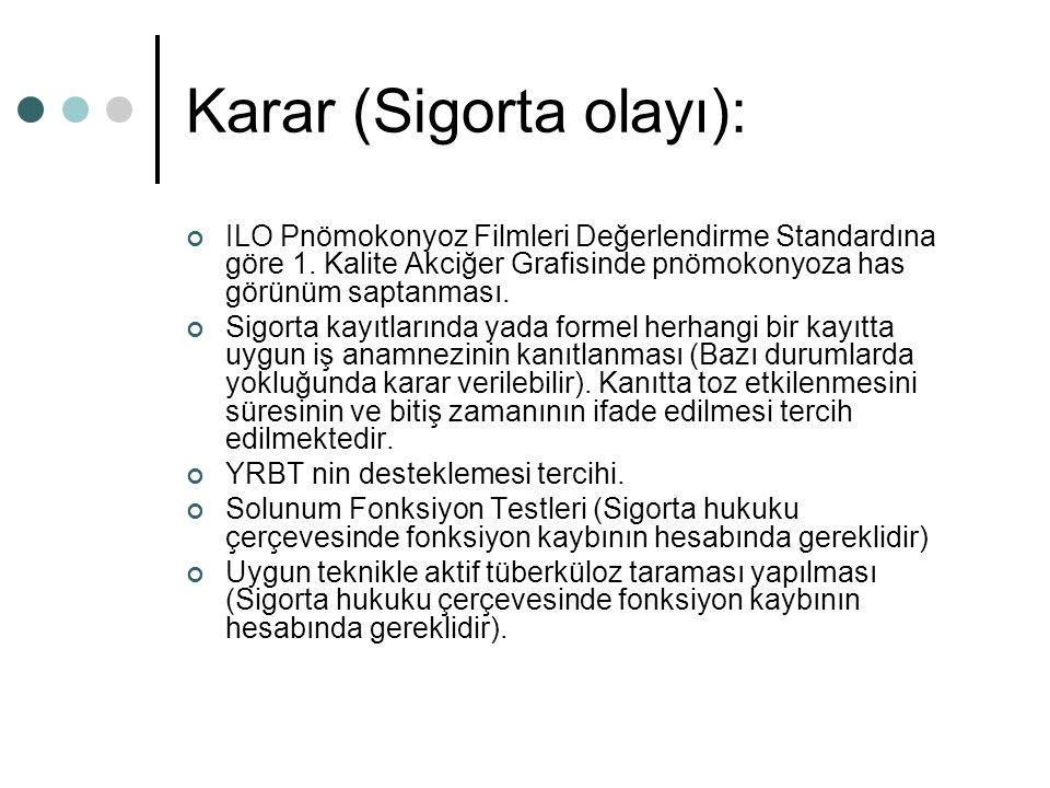 Karar (Sigorta olayı):