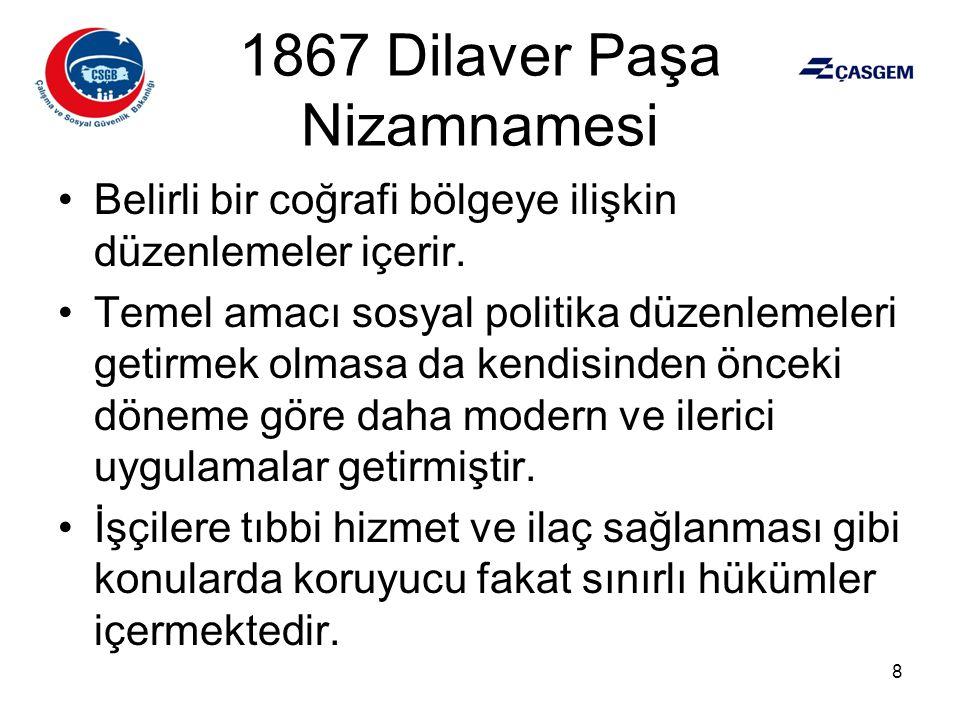 1867 Dilaver Paşa Nizamnamesi