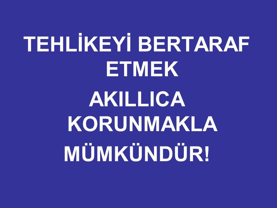 TEHLİKEYİ BERTARAF ETMEK