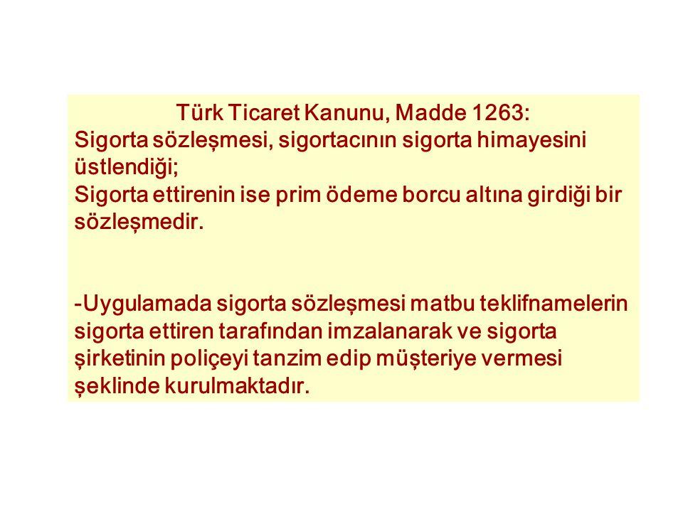Türk Ticaret Kanunu, Madde 1263: