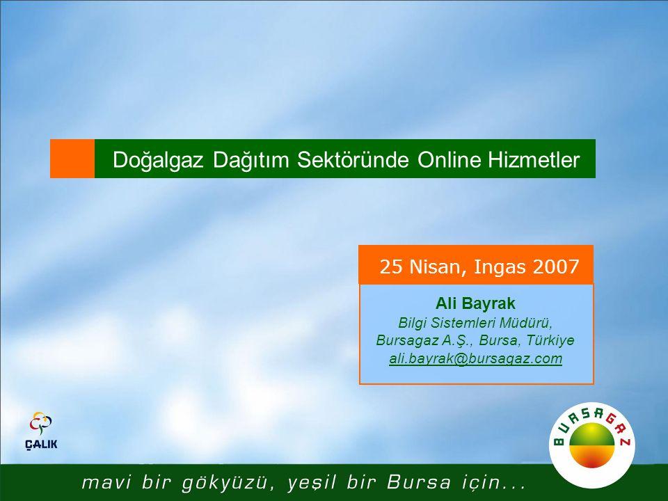 Doğalgaz Dağıtım Sektöründe Online Hizmetler