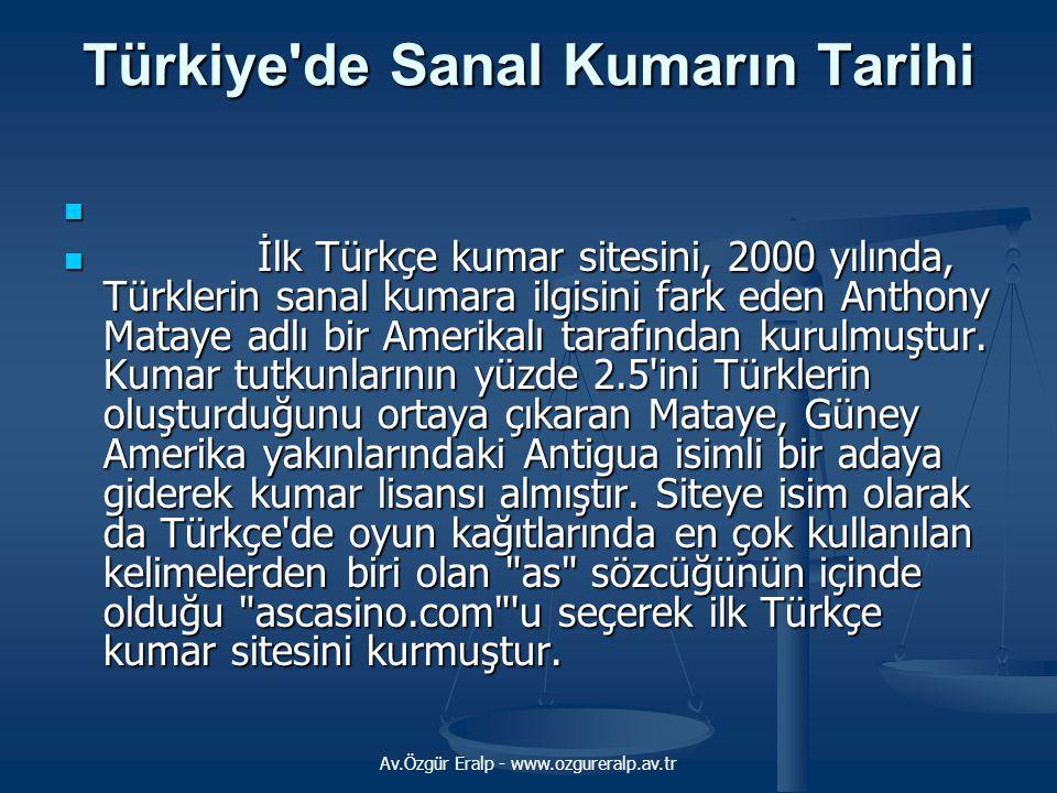 Türkiye de Sanal Kumarın Tarihi