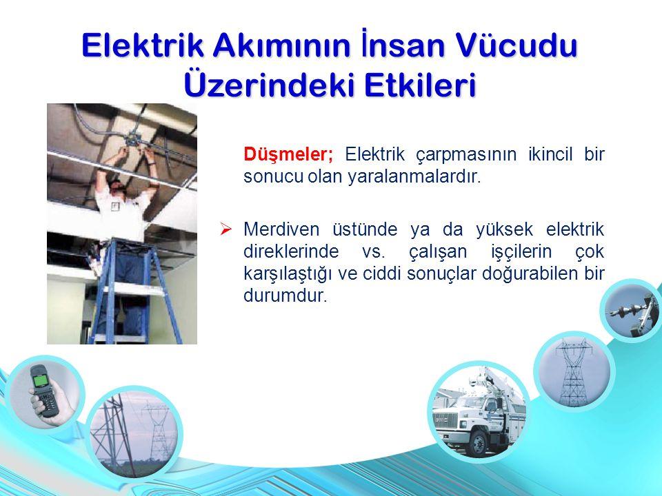 Elektrik Akımının İnsan Vücudu Üzerindeki Etkileri