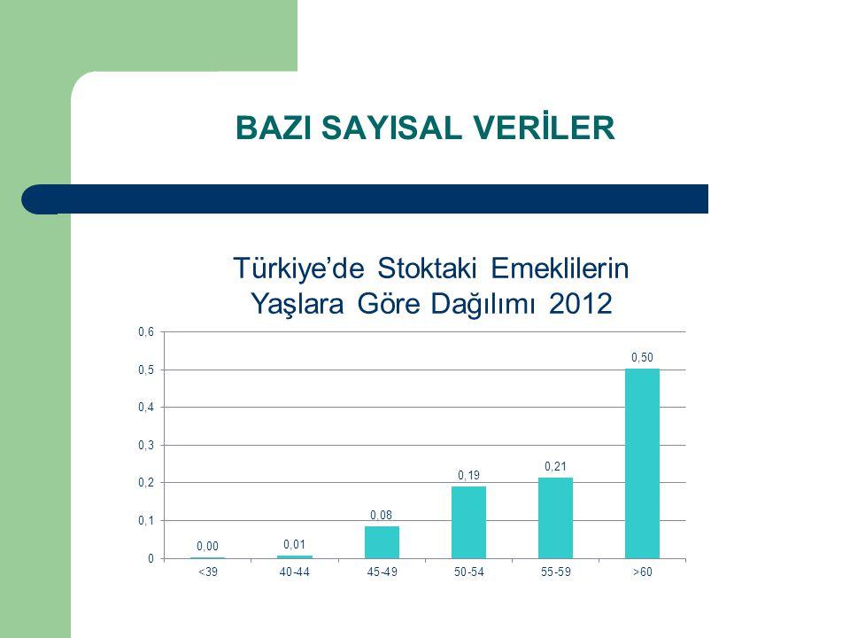 Türkiye'de Stoktaki Emeklilerin