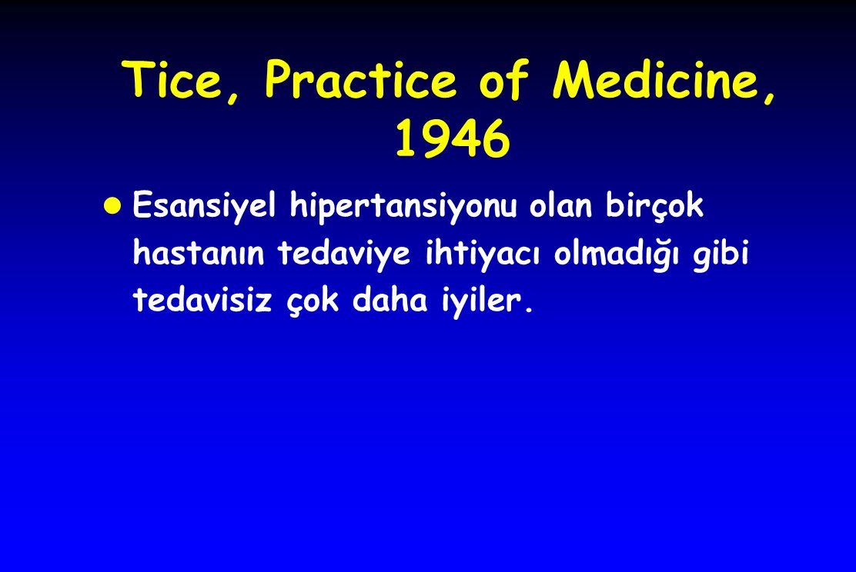 Tice, Practice of Medicine, 1946