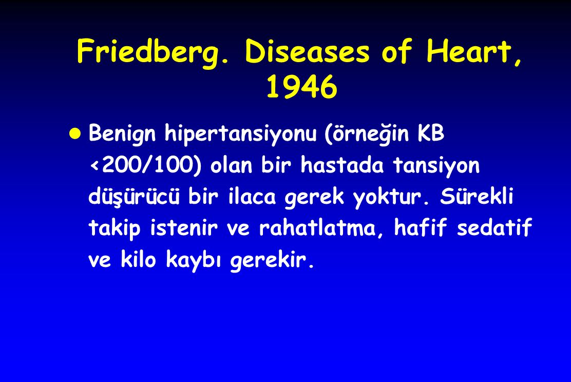 Friedberg. Diseases of Heart, 1946