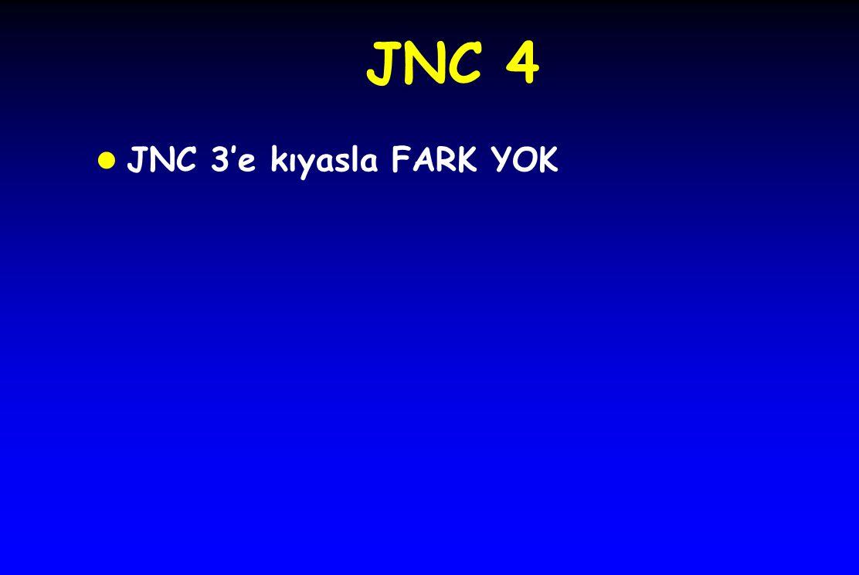 JNC 4 JNC 3'e kıyasla FARK YOK