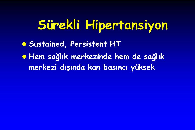 Sürekli Hipertansiyon